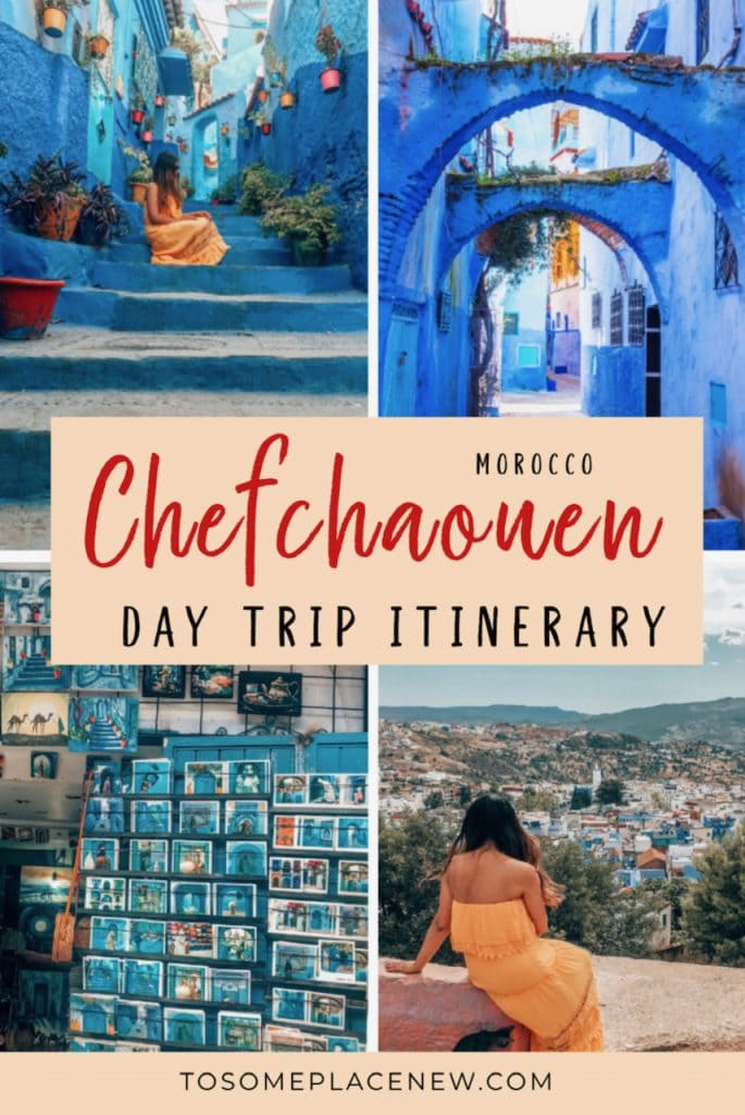 Tangier to Chefcahouen Day trip itinerary