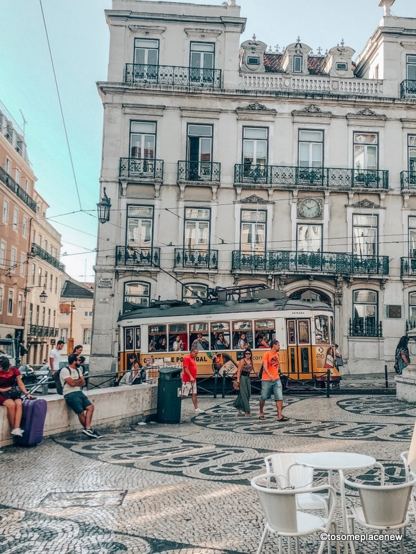 2 days in Lisbon at Chiado Square