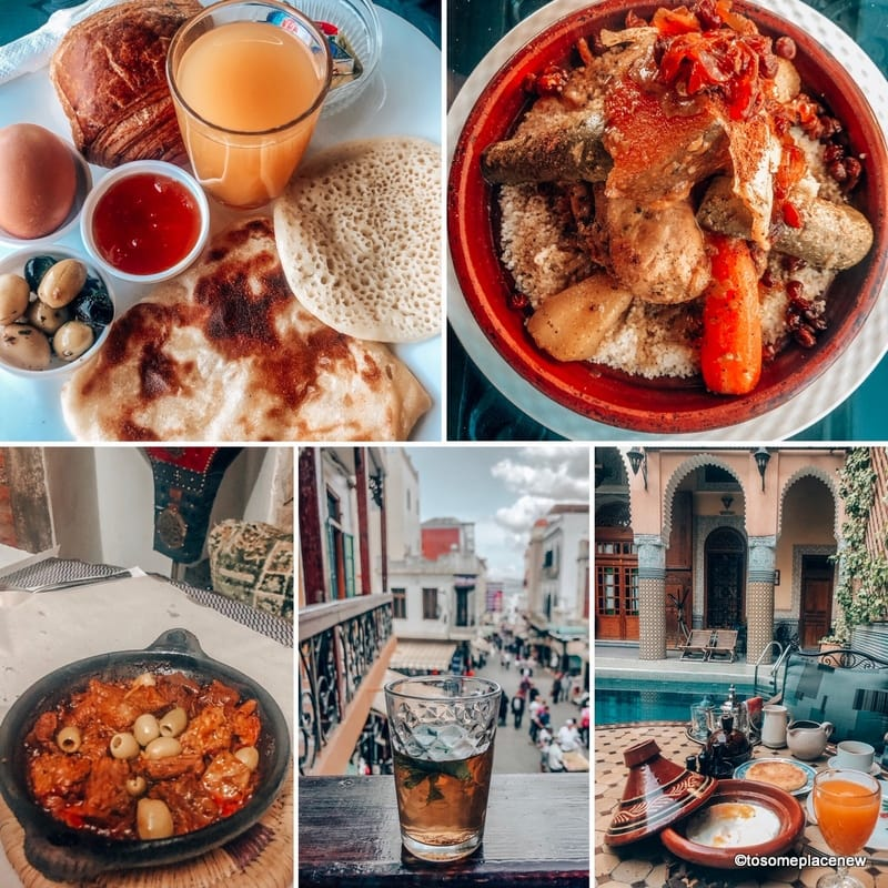 Food in Morocco Itinerary