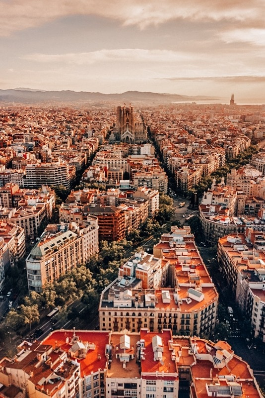 Jaw Dropping views in Barcelona