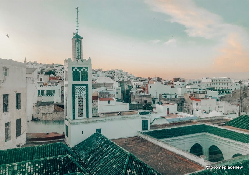 Views from Hotel Mamora Tangier