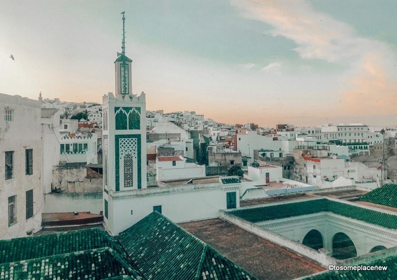 Views from Hotel Mamora Tangier