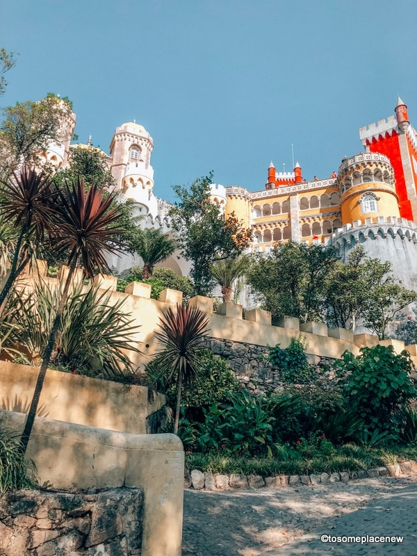 Pena Palace Sintra - half day Trip from Lisbon 2 day itinerary