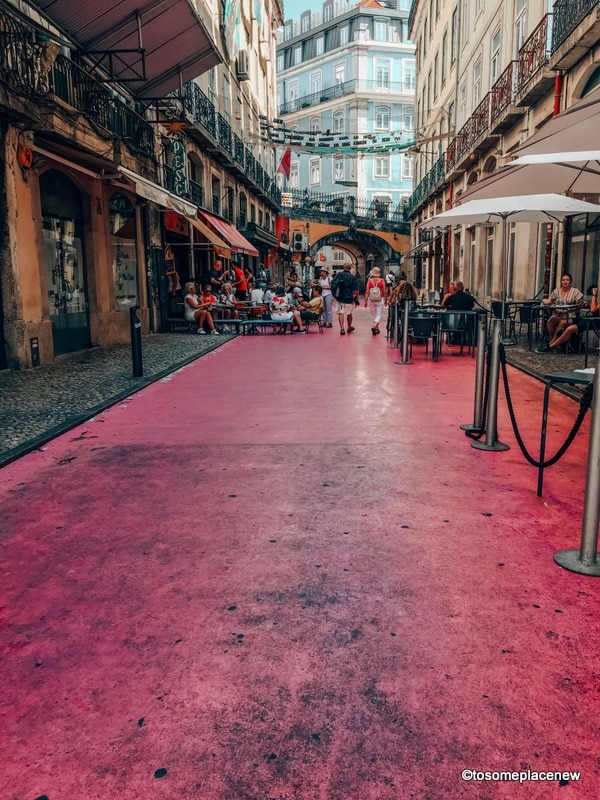 Pink Street in Lisbon 2 days