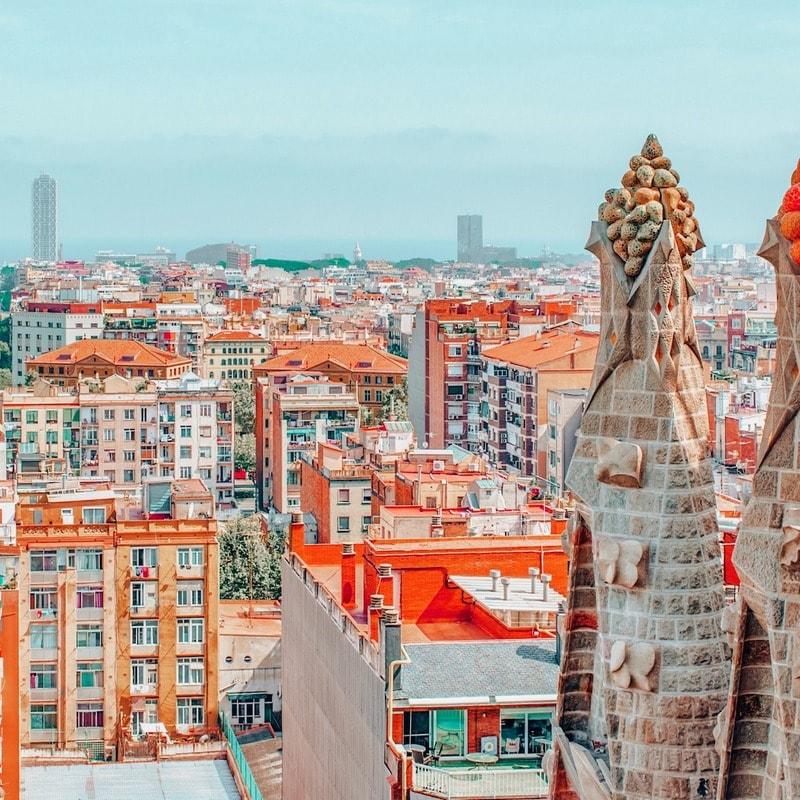 Views from Sagrada Familia