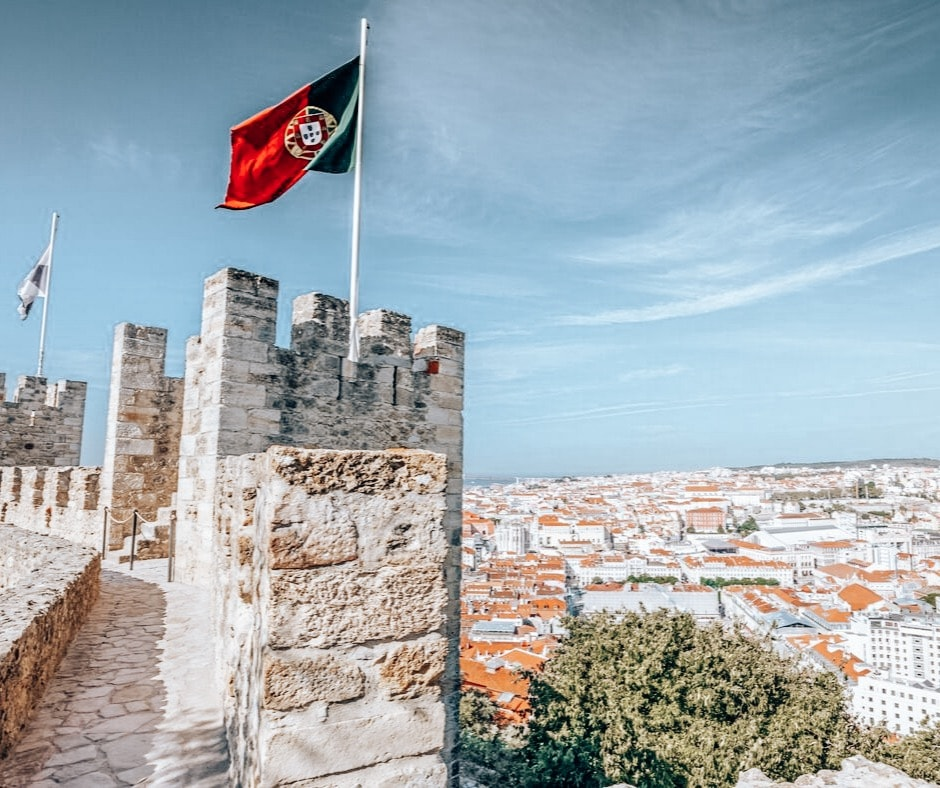 Sao Jorge Castle 2 days in Lisbon