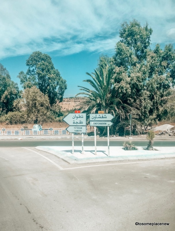 angier to Chefchaouen and back