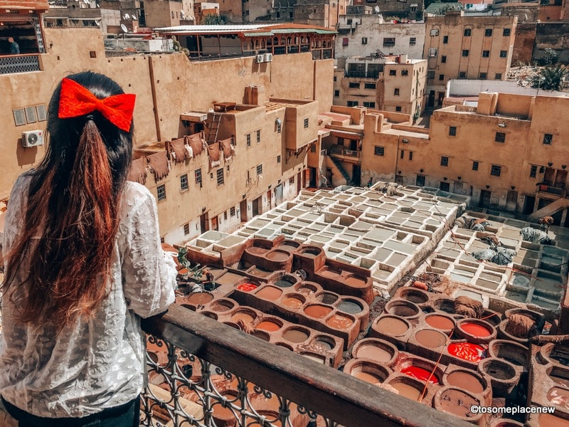 Tannery in Fes - Morocco Itinerary 7 days