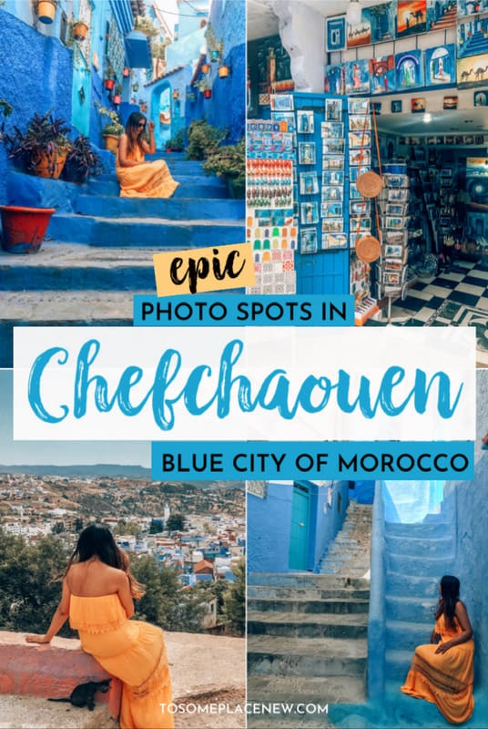 Admiring blue walls of Morocco - Things to do in Chefchaouen