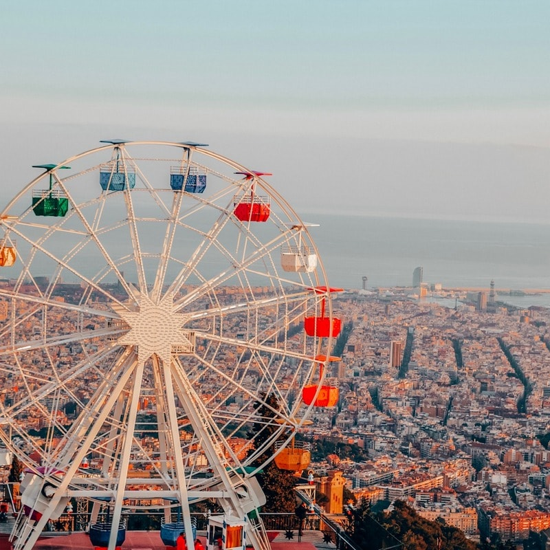 Tibidabo - Best views in Barcelona