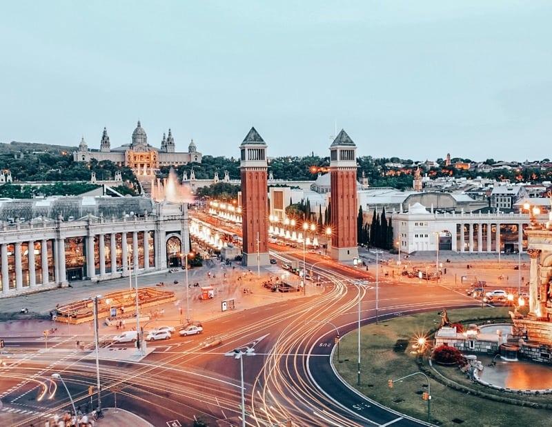 Arenas de Barcelona views