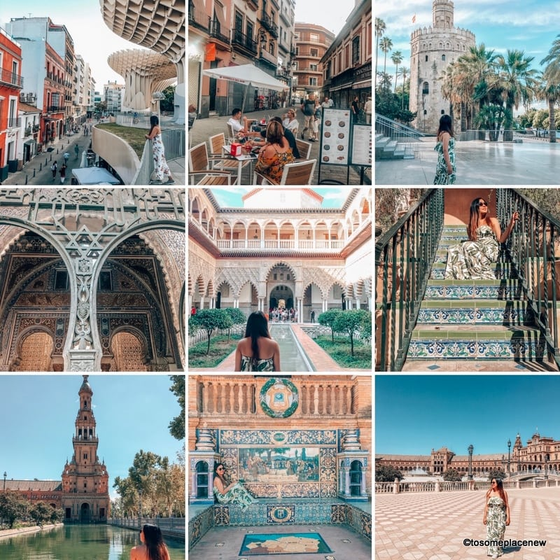 Glimpses of 2 days in Seville Itinerary and guide