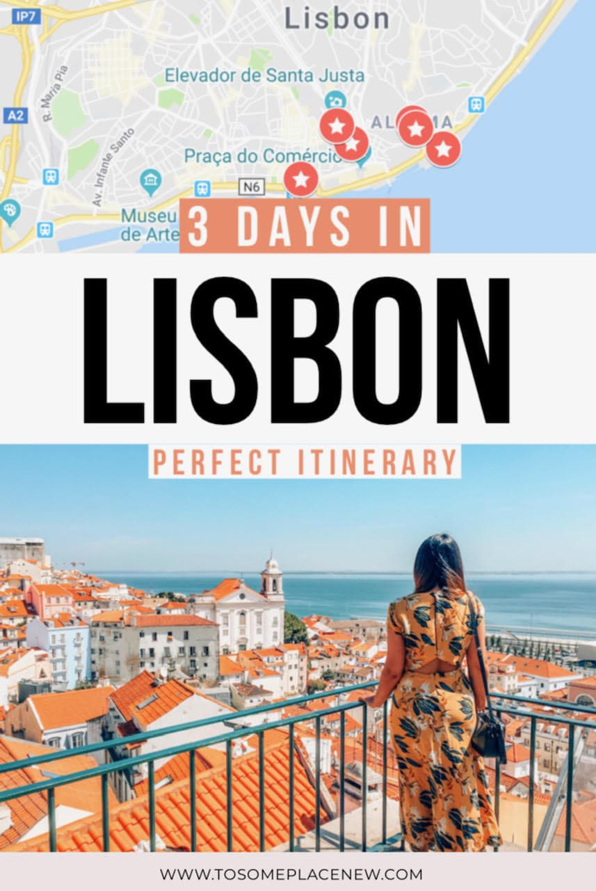 Get the Lisbon Portugal Itinerary with Lisbon Portugal must see in 3 days| Europe travel tips for Lisbon Portugal things to do guide | Lisbon Portugal where to stay guide and city trip ideas | Ride on the Lisbon Portugal tram and explore Alfama and Lisbon Portugal Pink street