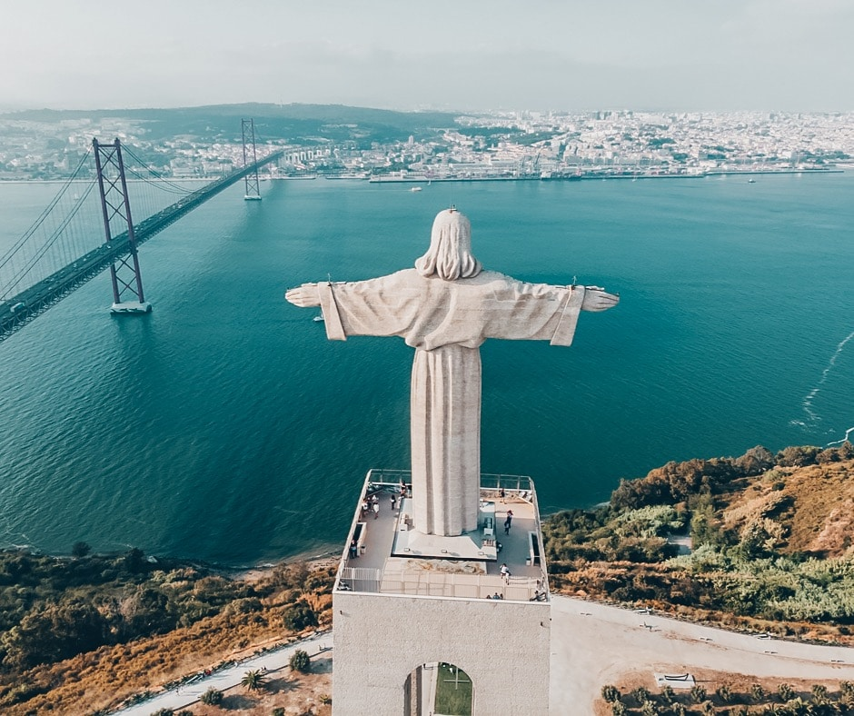 Almada - Best day trips from Lisbon Portugal