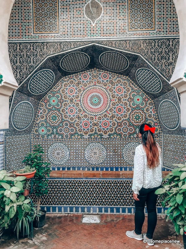 Fountains in Fes itinerary