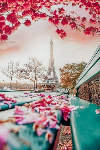 Paris Eiffel Tower - Best time to visit Paris France