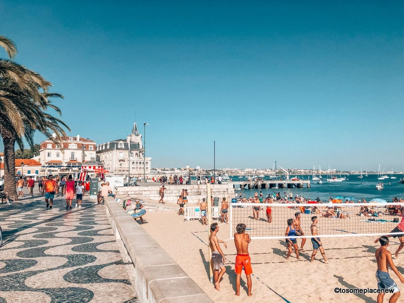 Cascais beaches - day trips from Lisbon