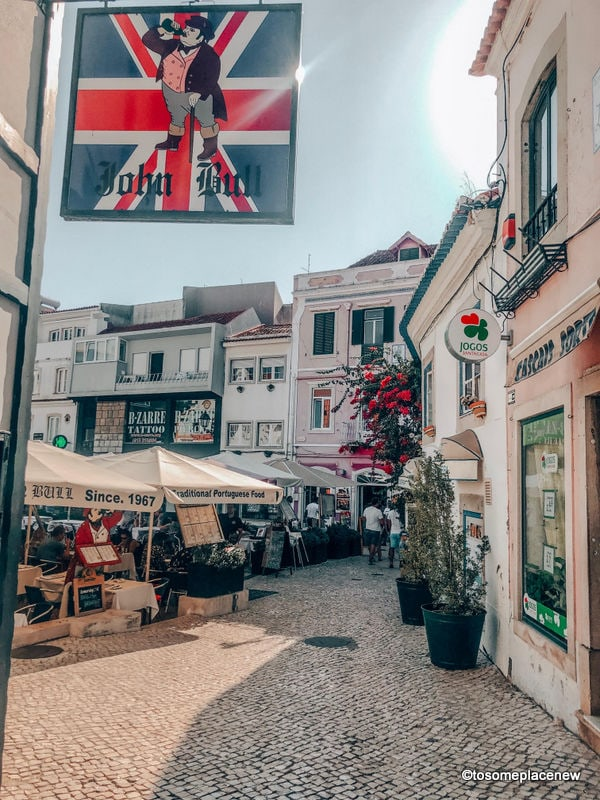 Cascais town center Day trips from Lisbon