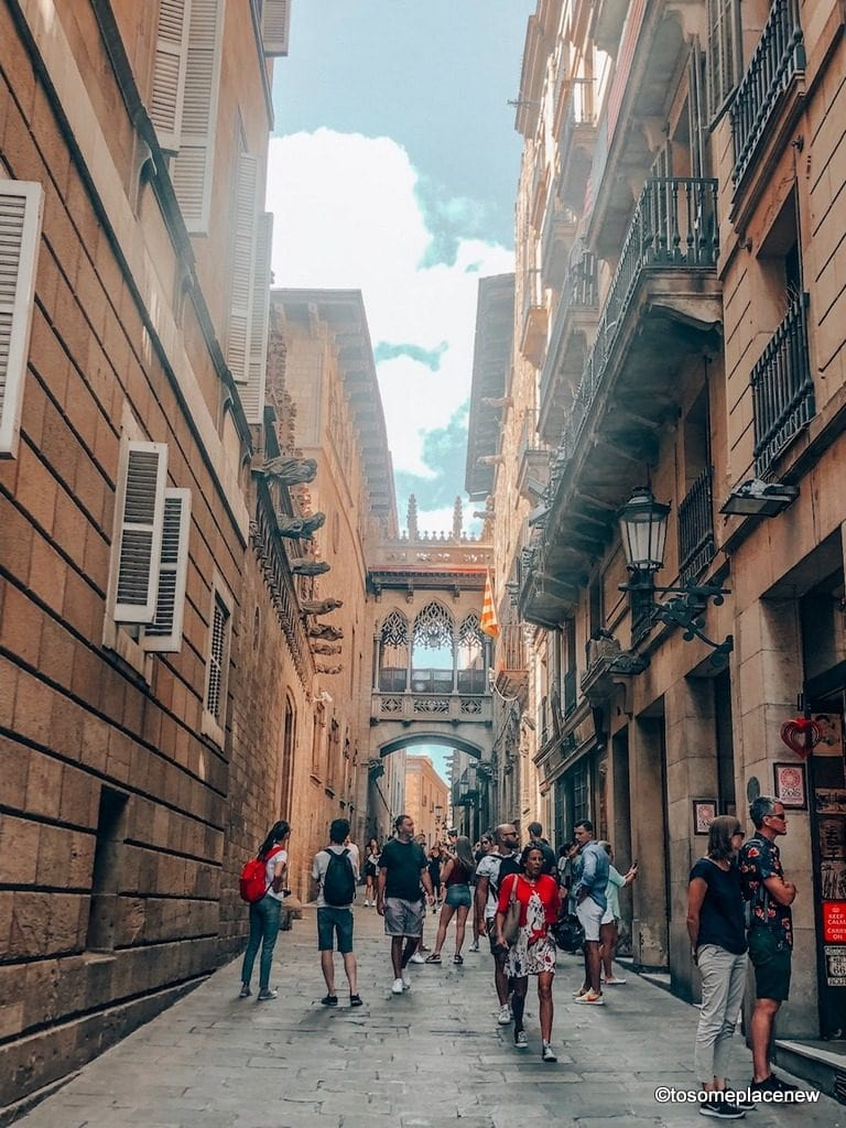 Gothic Quarter Barcelona - Most beautiful cities in Spain