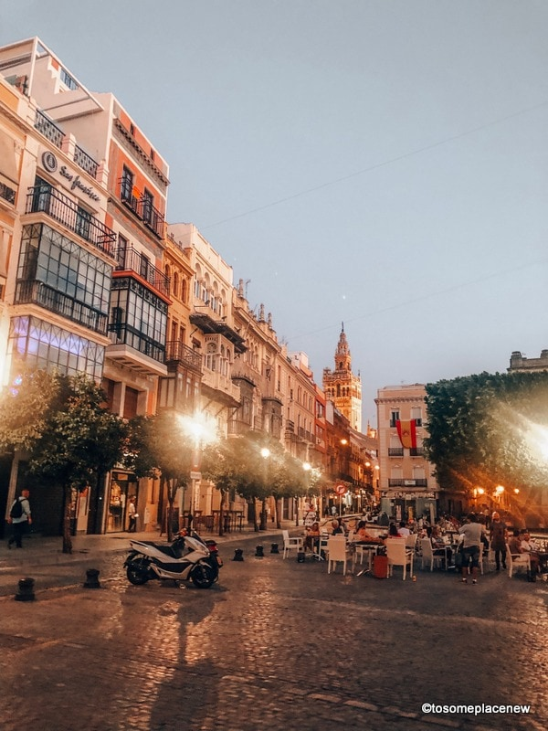 Evenings in Seville