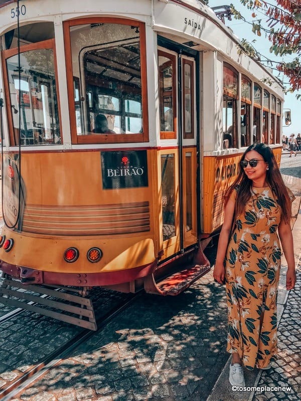 Lisbon tram and many more Lisbon photography spots for your trip