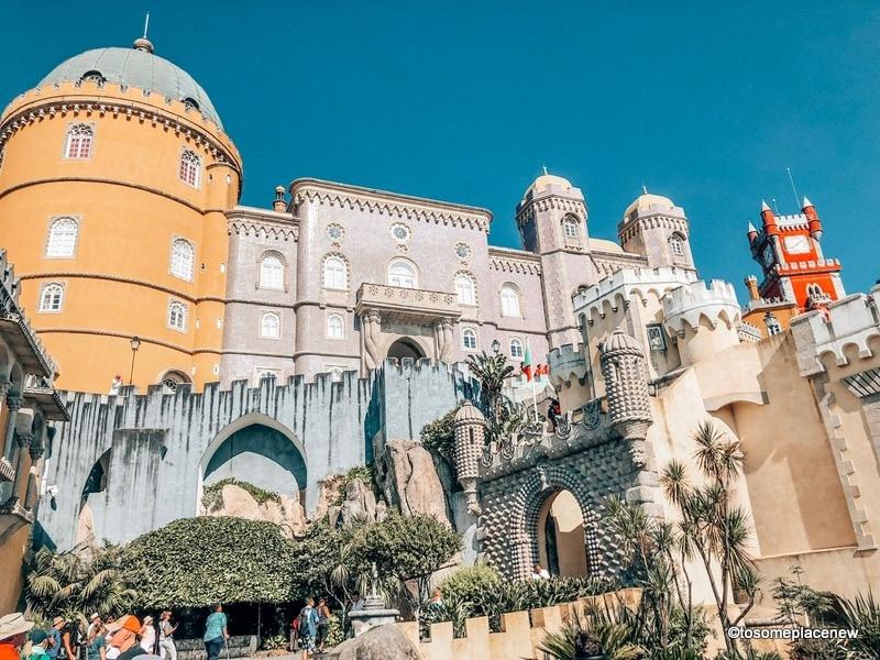 Pena Palace Views