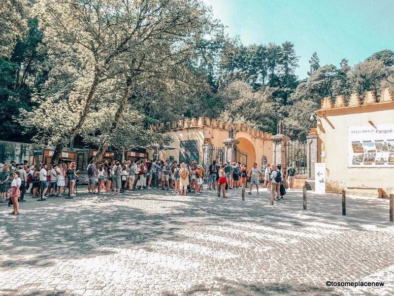 Pena Palace line ups