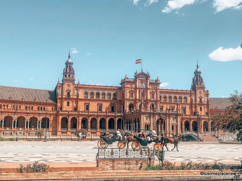 Plaza de Espanya Seville