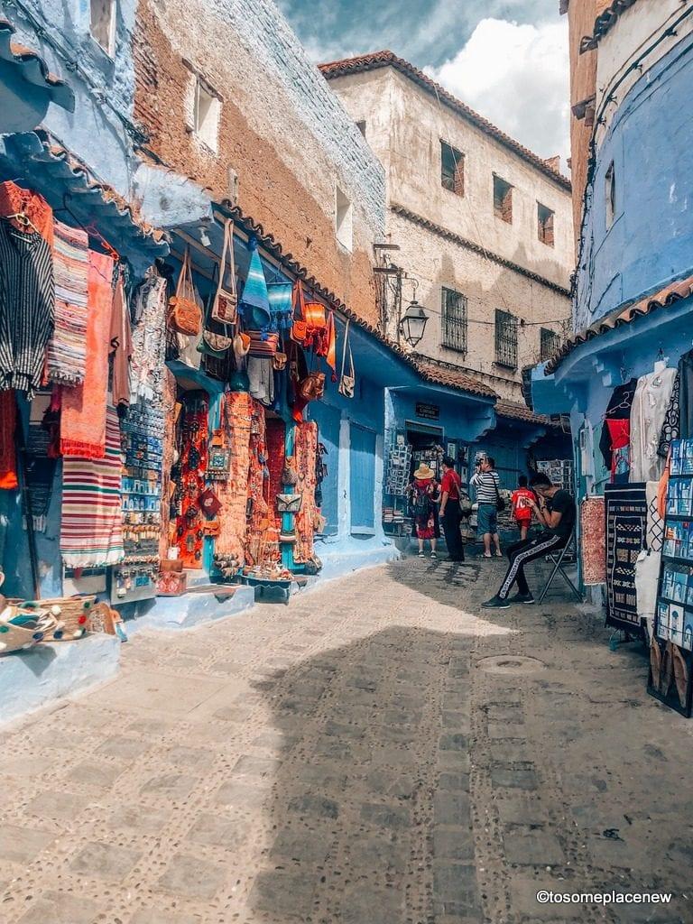 Chefchaouen Medina lanes