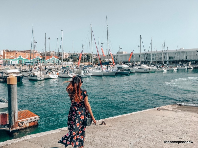 Cruise port of Lisbon Photography spots
