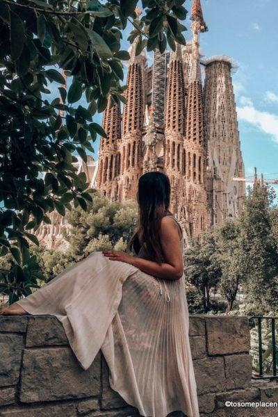 Sagrada Familia - One week in Spain Itinerary