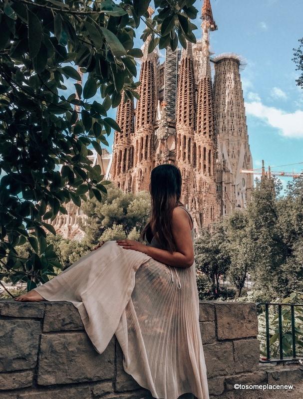 Sagrada Familia - Barcelona Most beautiful places in Spain