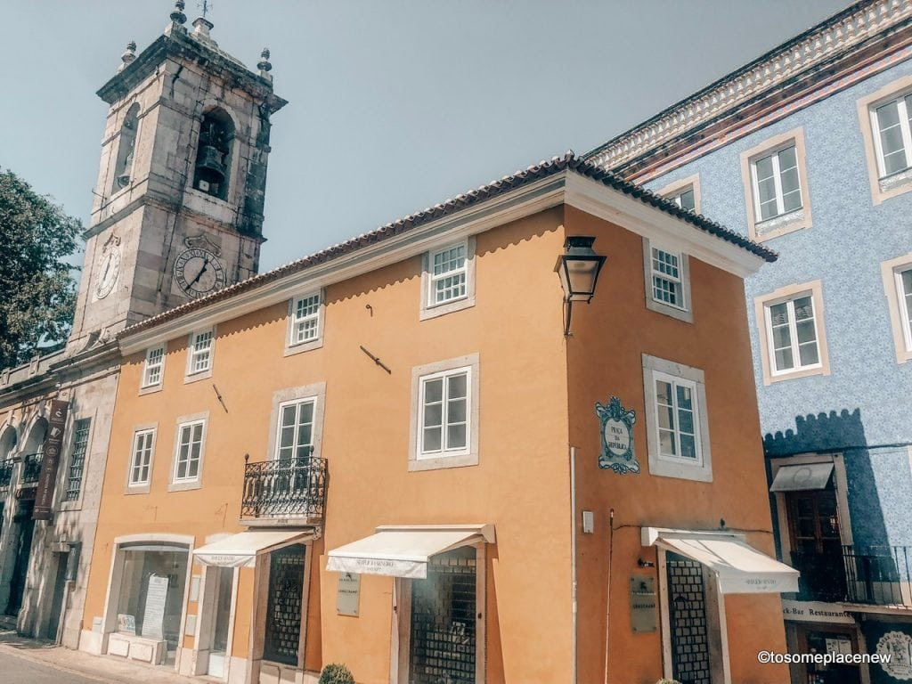Sintra old town center