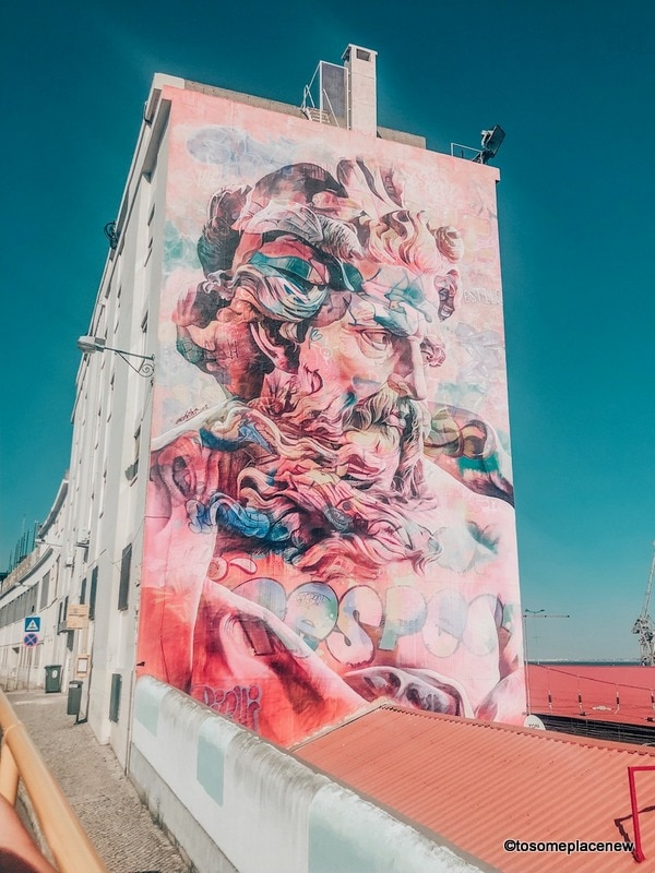 Street art Lisbon photography spots