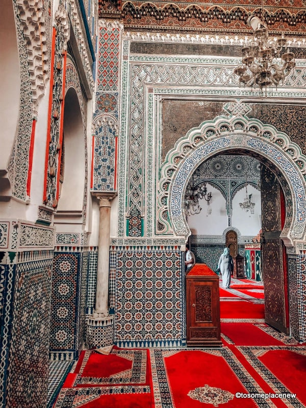 Tomb of Idris II - Things to do in Fes Itinerary