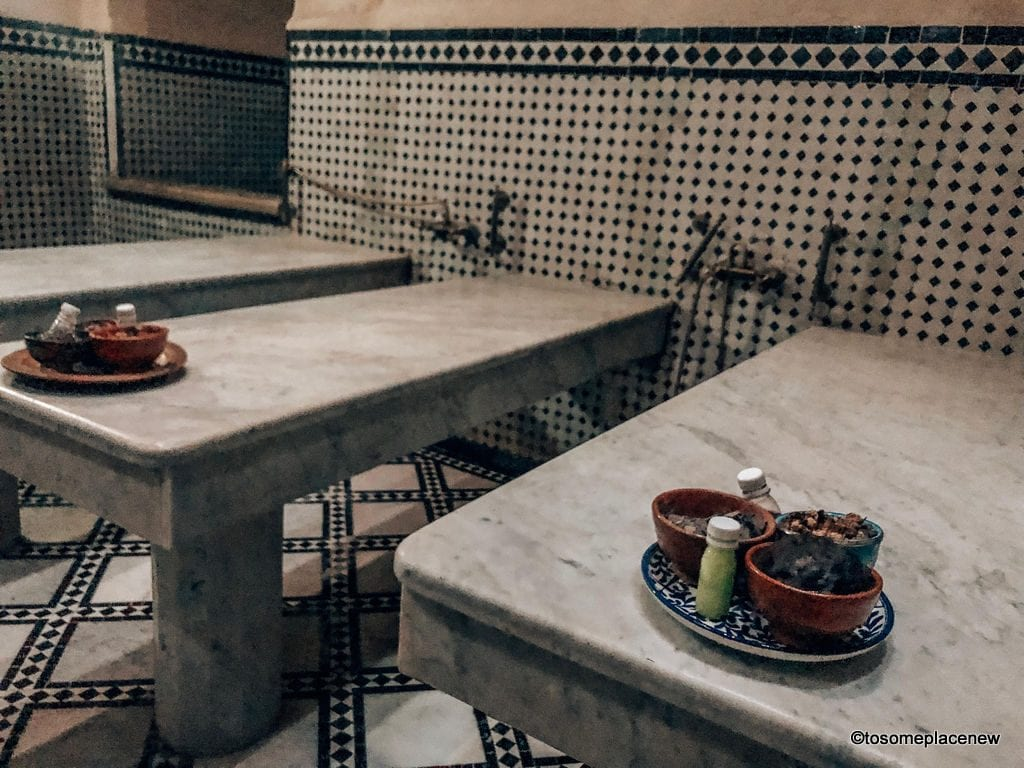 Traditional Hammam - Fes Itinerary