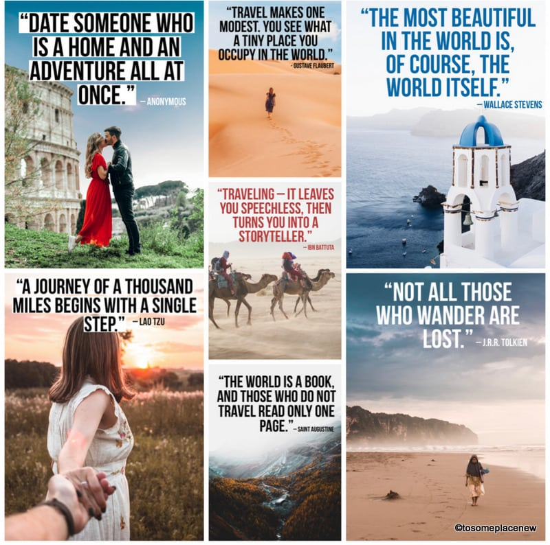 Enjoy these 31 incredible Travel Partner Quotes especially curated for you. Save them, read them, get inspired and get traveling!