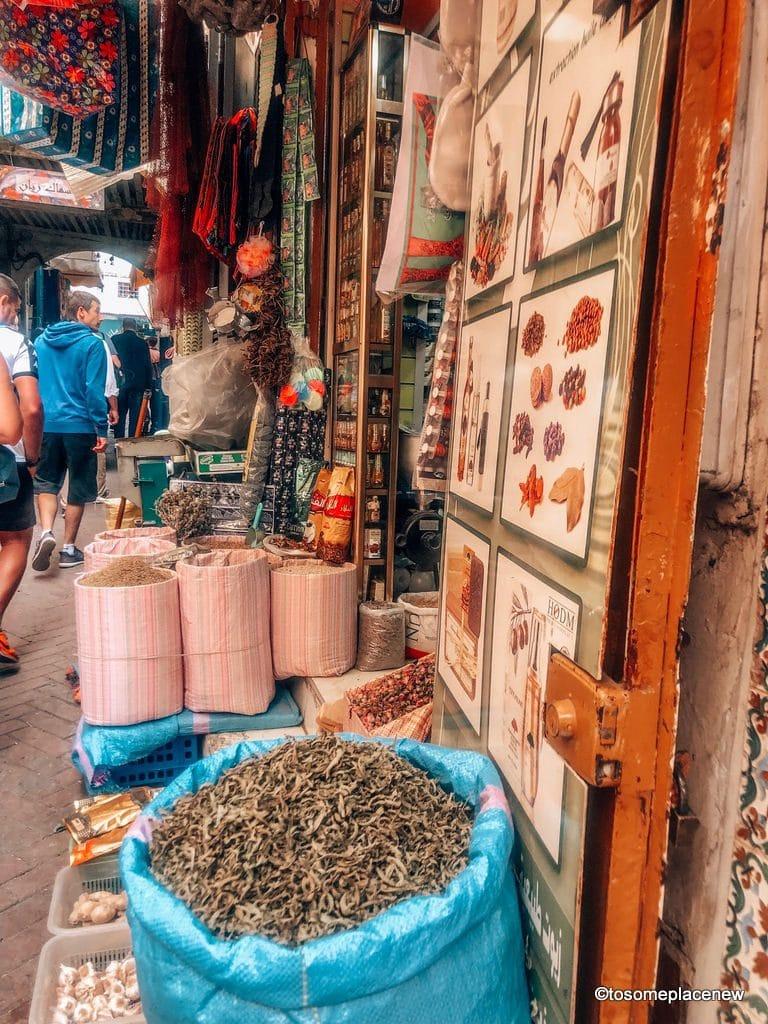 Tangier Medina Markets