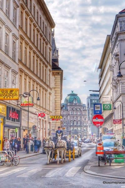 Horse drawn carriage in 2 days in Vienna Itinerary