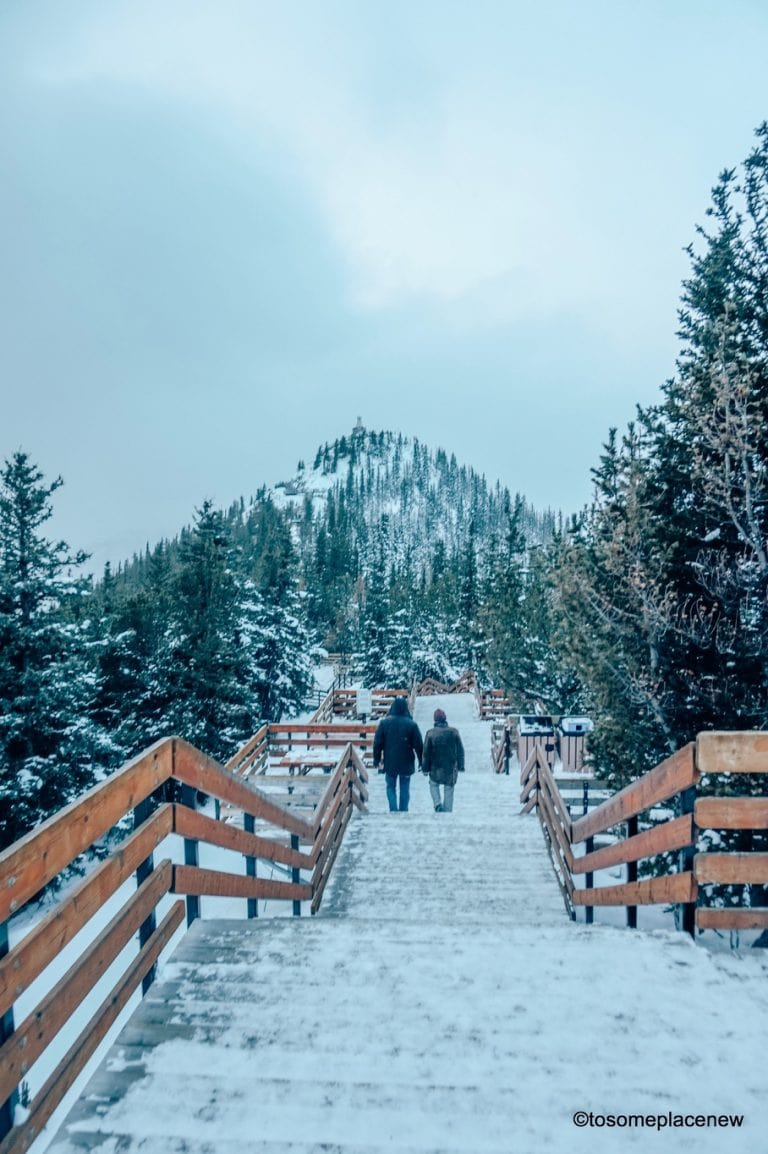 Banff in November is perfect for non skiers & here's why