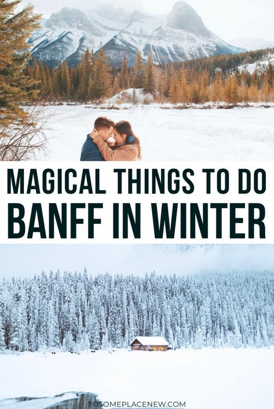 Banff in Winter activities and things to do