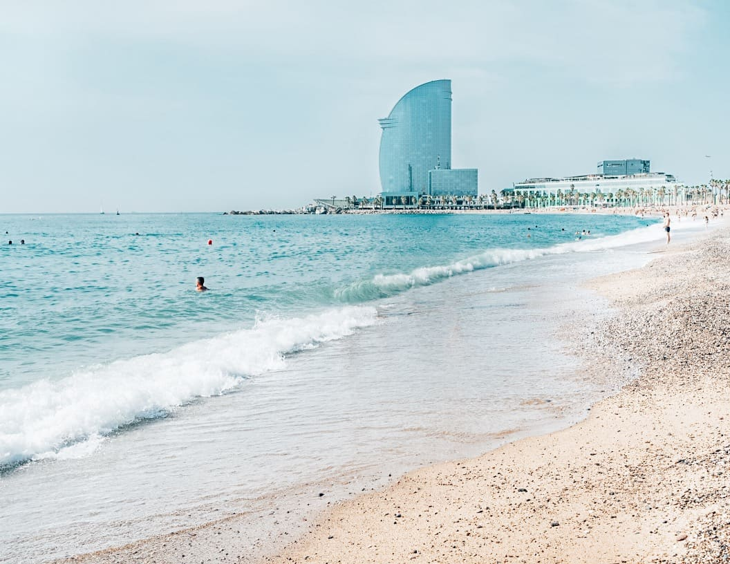 Barcelona Beaches in September