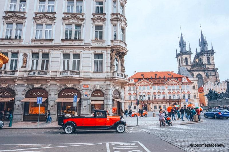 Beautiful Prague in March