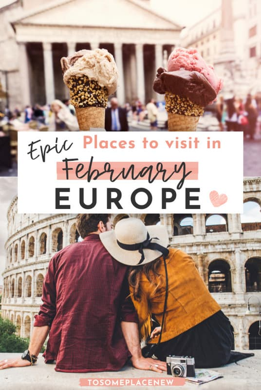 Best places to visit in February in Europe