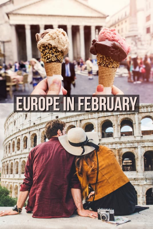 Europe in February :20 Best places to visit in February in Europe