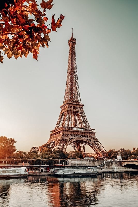 Fall is the best time to visit Paris
