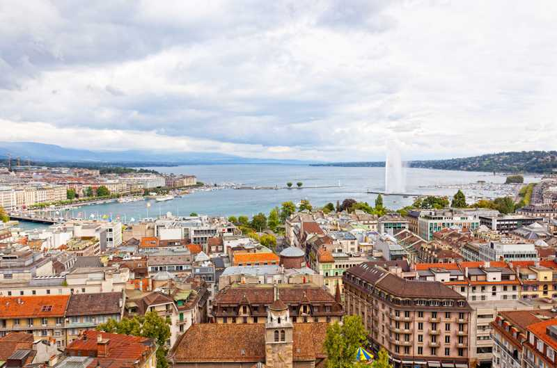 Geneva_Jet_D'eau in 7 days in Switzerland Itinerary