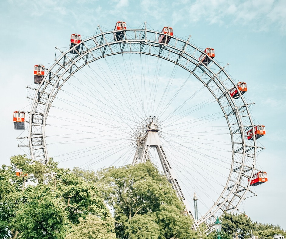 Giant Ferris Wheel in Vienna Itinerary