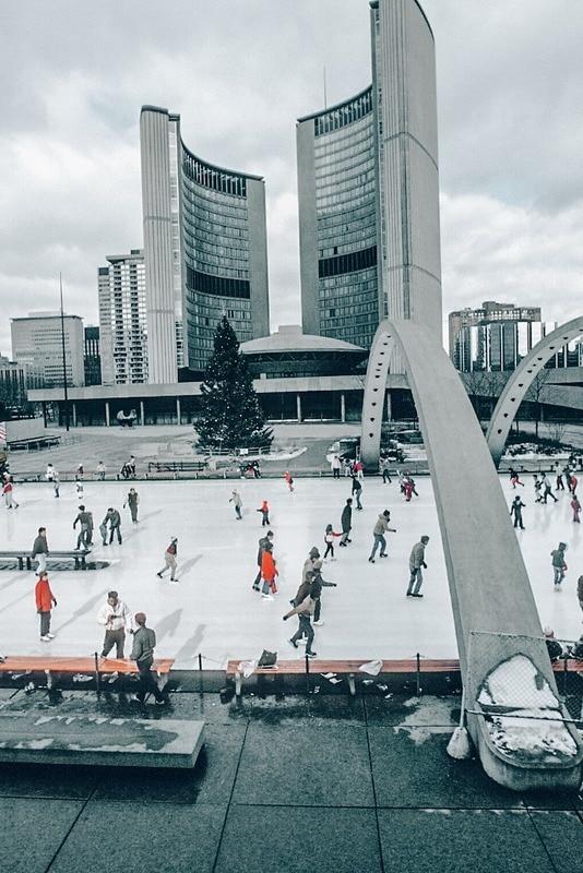 Ice Rinks in Toronto in December