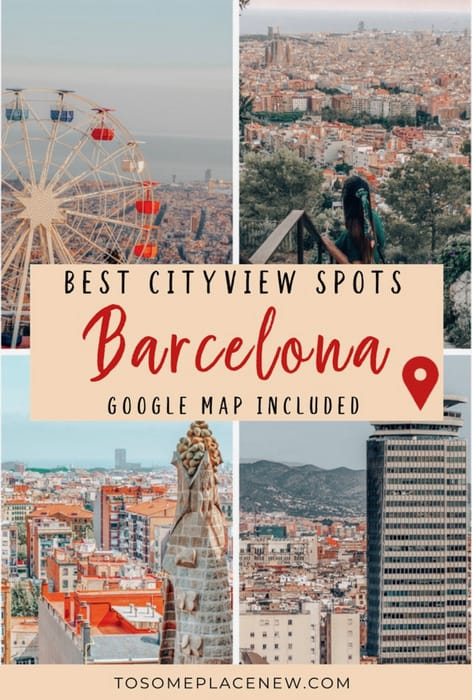 Where to find the best City Views in Barcelona